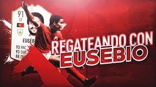 MARCANDO GOLAZOS INCREIBLES CON EUSEBIO EN FIFA 19 ONLINE