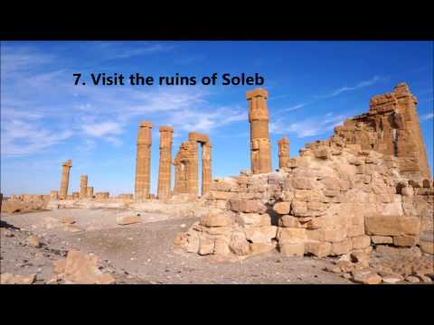 The Top 10 Things to Do in Sudan!