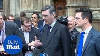 Jacob Rees-Mogg says problem is 'having a remainer' for a leader