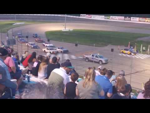 5-25-18 heat race 1 Madison international speedway