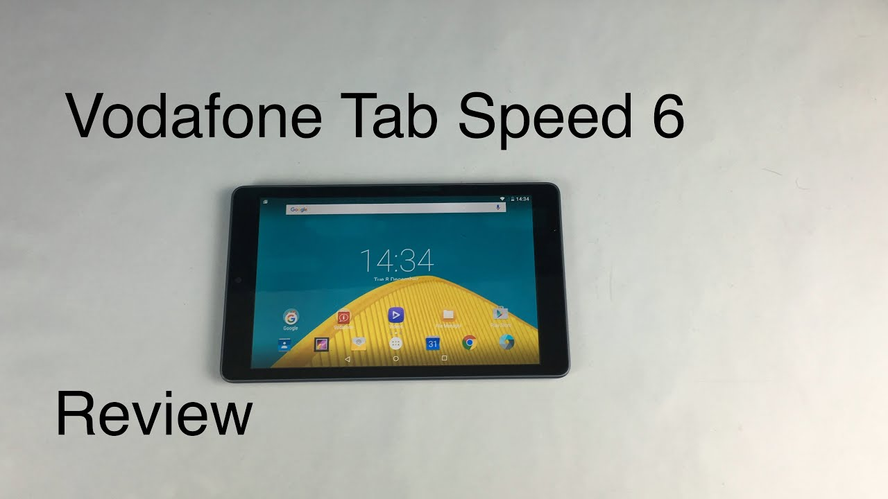 Vodafone Tab Speed 6 Review
