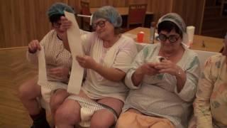 Osobní hygiena v domově důchodců - Silvestr Seniorklubu Cholina 30.12.2016