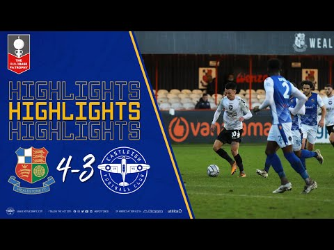 Wealdstone Eastleigh Goals And Highlights
