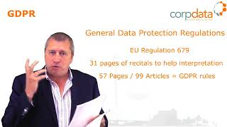 What is GDPR? Part 1 in our Guide to GDPR in 1 minute bites