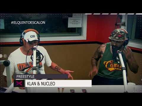 KLAN y NUCLEO largan un FREESTYLE VIOLENTO - El Quinto Escalon Radio (12/12/17)