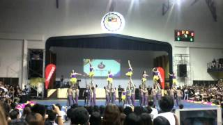 "XU Cheerdance Competition 2015 - Computer Studies ""iWizards"""