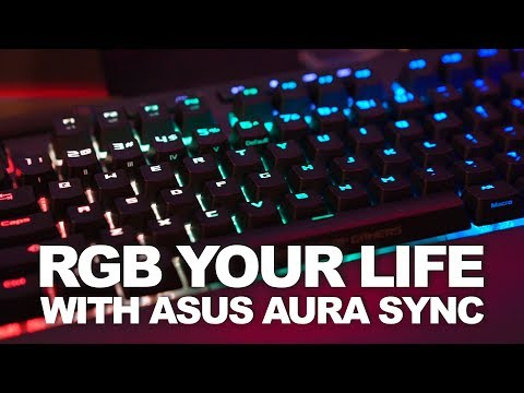 ASUS Lights Up Your Life with AURA Terminal