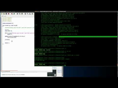 Running Linux System Commands and Shell scripts in C or C++ with grep awk sed popen