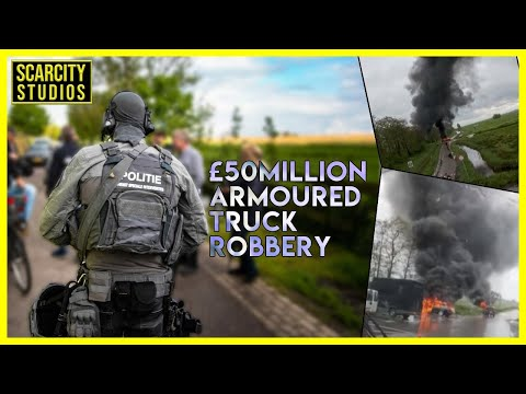 £50 Million Armoured Truck Robbery, 6 Arrests, 1 D•ad In Police Sh••tOut #Amsterdam