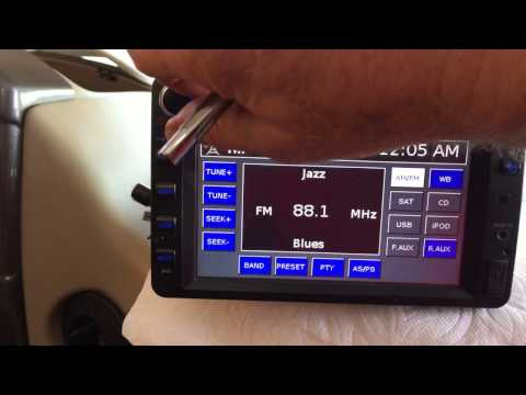 RV Jensen Camera - Radio Model - JVR212 How To Fix Touch Screen Issue