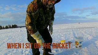 Hardwater Perch: Winter Fishing| ontario Canada