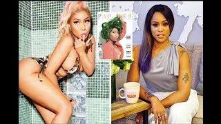 Eve Diss Nicki Minaj's Provocative Paper Cover!