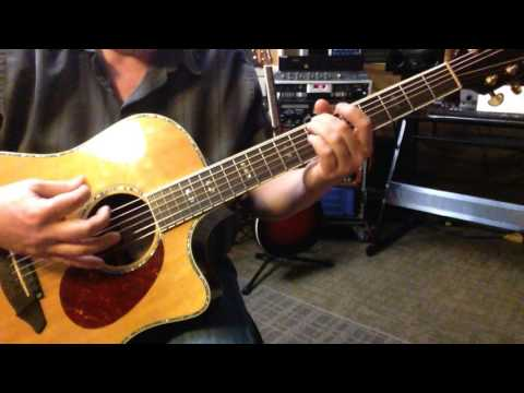 Open Tuning D#A#DFGD# - D# M9 in G Aeolian - Is This It?