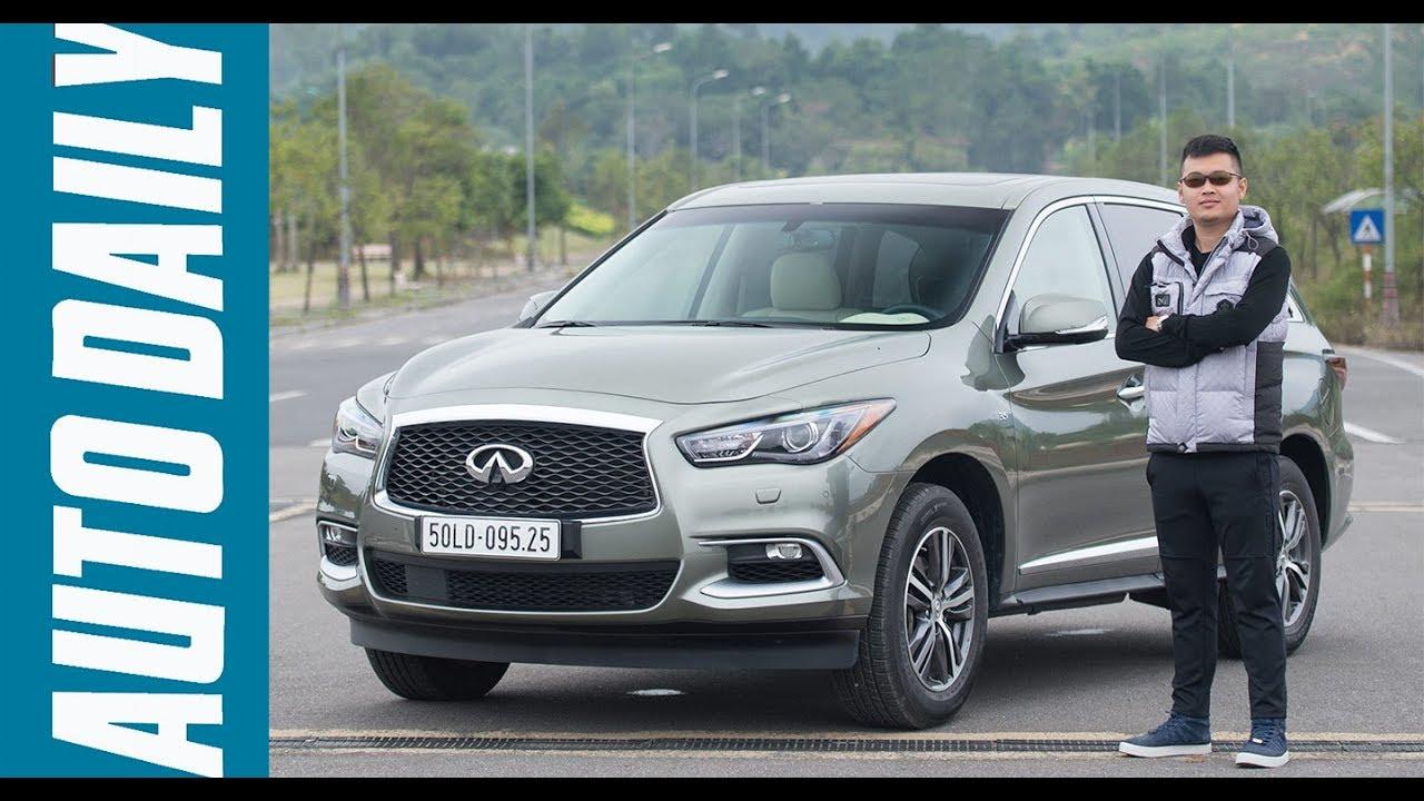 Đánh giá xe Infiniti QX60: SUV hạng sang 7 chỗ giá hơn 3 tỷ đồng |AUTODAILY.VN|