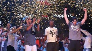 Nelson vs Poppin C - Dance Vision vol.4 Popping Final