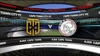Absa Premiership 2017/2018 - Cape Town City vs Ajax Cape Town