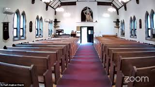 St. Paul's Anglican MS. Laura Kidd Funeral Service
