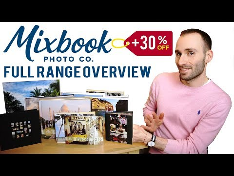 Mixbook Full Range Photo Book Review + 30% OFF