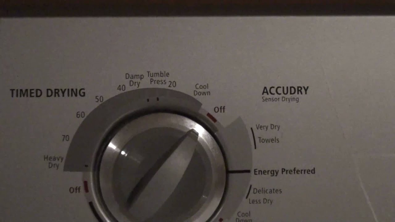 Whirlpool Gold Ultimate Care Ii Dryer Manual Schematic Youtube
