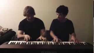 Inspector Gadget Theme - Piano Duet | Frank & Zach Piano Duets