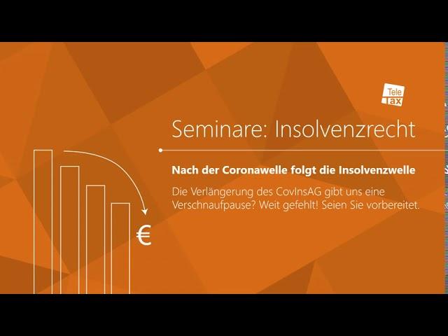 Seminare: Insolvenzrecht