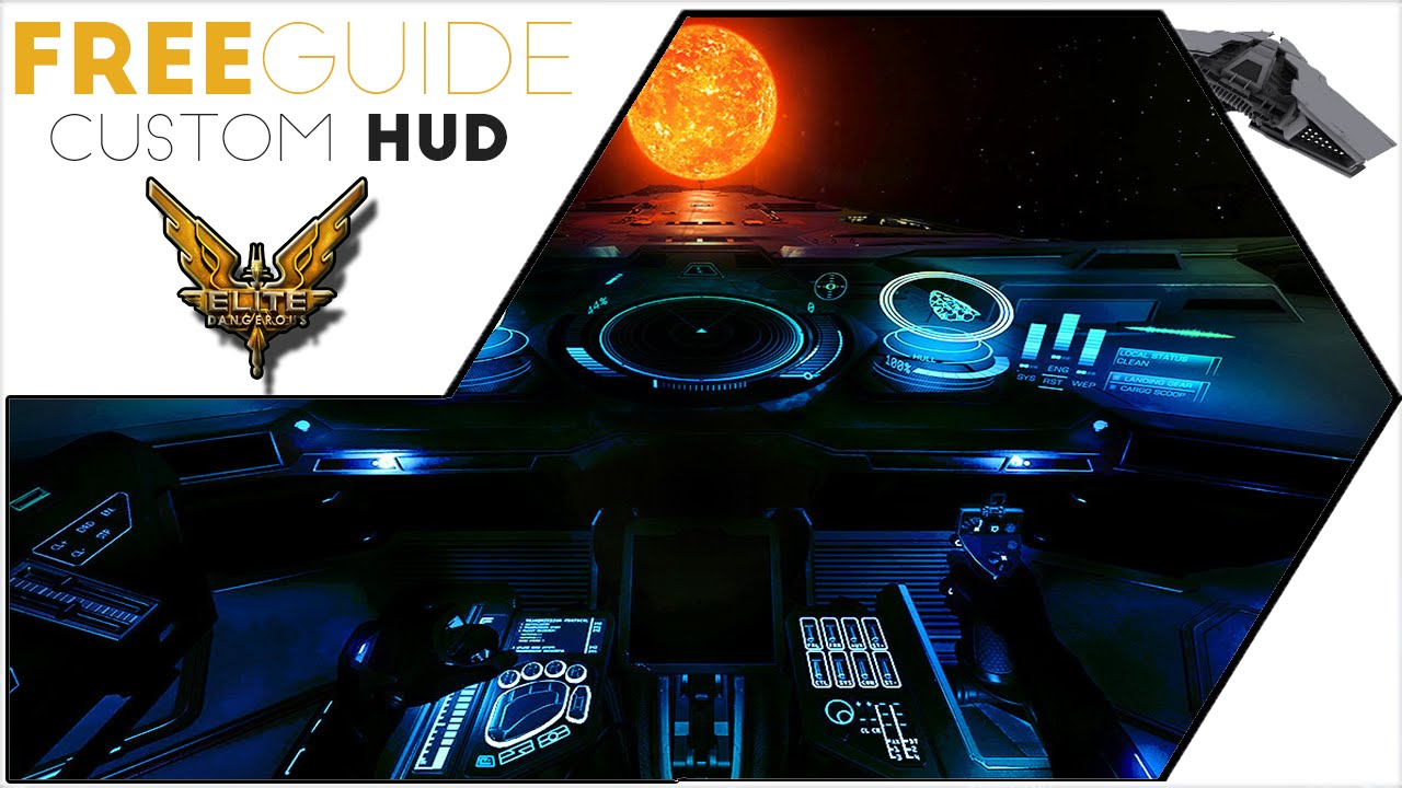 Elite Dangerous Guide - How To Customize Your HUD and UI Colors