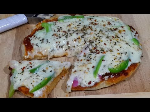 Veg Pan Pizza Recipe Without Oven