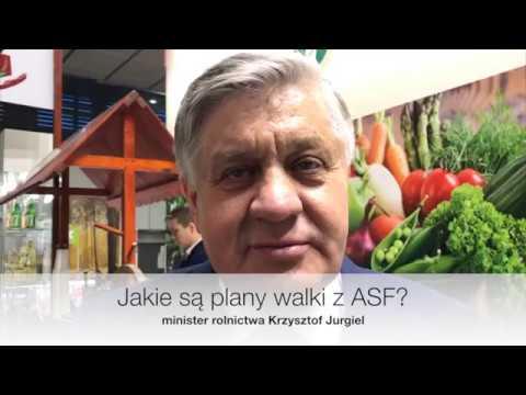 Minister Krzysztof Jurgiel mówi o  planach walki z ASF