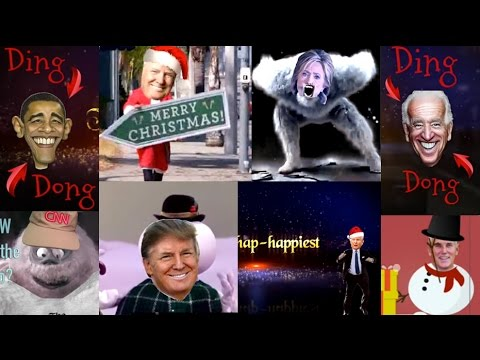 """Insanely Funny Trump Christmas Parody """"Most Wonderful Time in 8 Years"""""""