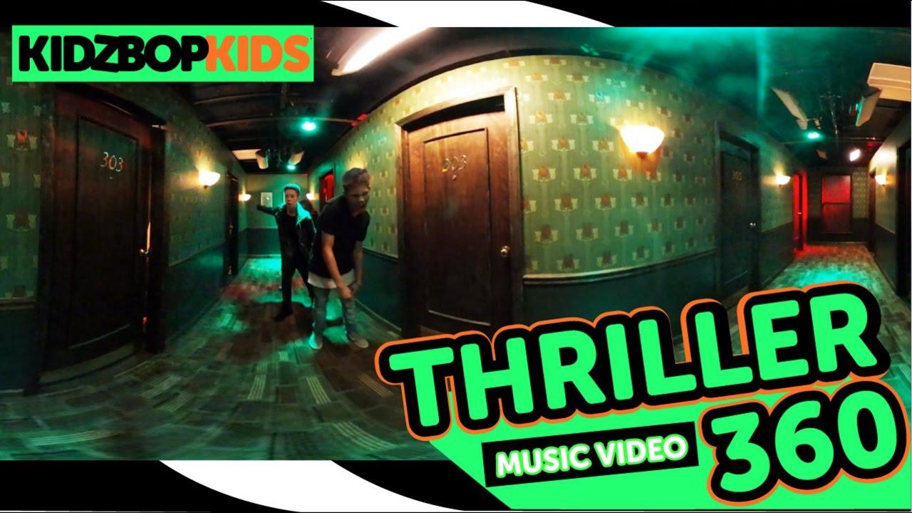 KIDZ BOP Kids - Thriller (360° Official Music Video) [KIDZ BOP Halloween] #Explore360