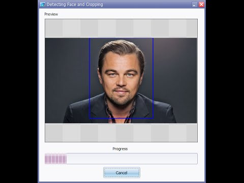Detecting and Cropping Faces from Photos in Bulk for ID Cards