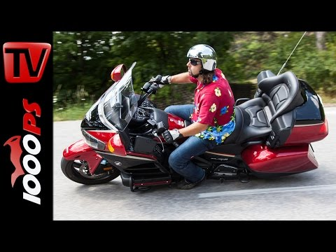 2015 Honda GL 1800 Goldwing Test | 40th Anniversary Edition - ENGL Subs