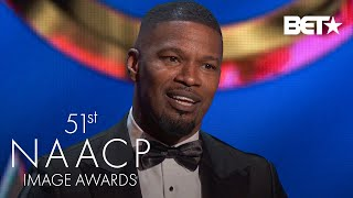 Jamie Foxx Wins Supporting Actor In A Motion Picture Award!   NAACP Image Awards