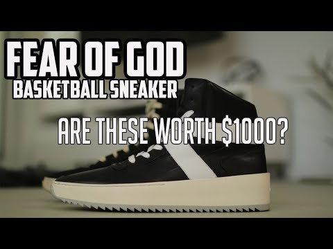 Fear of God Basketball Sneakers Review + On feet Fifth Collection