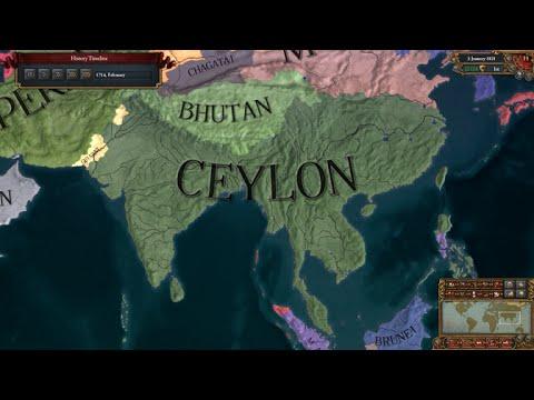 #3 | EU4 Timelapse | My Ceylonese Empire | Ceylon Timeline