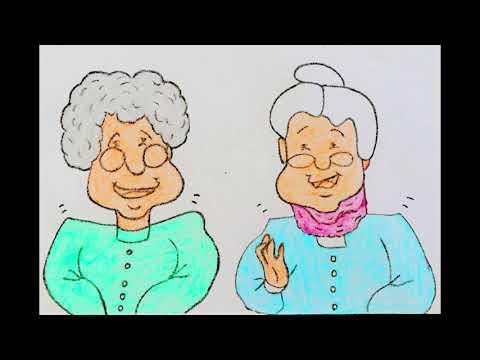 Жили-были две старушки
