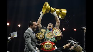 Oleksandr Usyk - Road to the Muhammad Ali Trophy/Fighter of the Year/Highlights/Joshua's next.