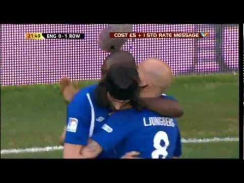 Soccer Aid 2012 Sergio Pizzorno Goal