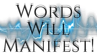 The Dynamic Power Of The Spoken Word! (Words Are Energy!)  - Law Of Attraction