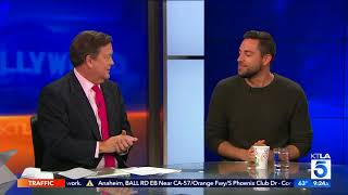 "Video Zachary Levi Talks Prepping for super hero role and ""The Star"" download MP3, 3GP, MP4, WEBM, AVI, FLV Juli 2018"