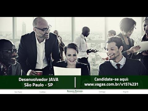 Vaga - Desenvolvedor Java - São Paulo