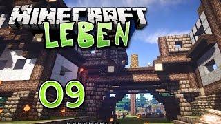 Minecraft LEBEN #009 - Stein auf Stein, so muss das sein | Rahmschnitzel