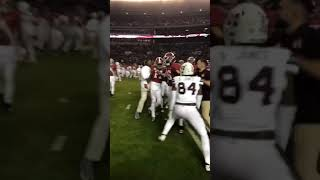 Alabama Football: Postgame scuffle with Mississippi State (2018)
