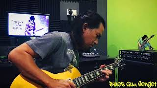 Blues Guitar Solo.. (I think) Blue Note/JP Wah/Gibson LP Classic