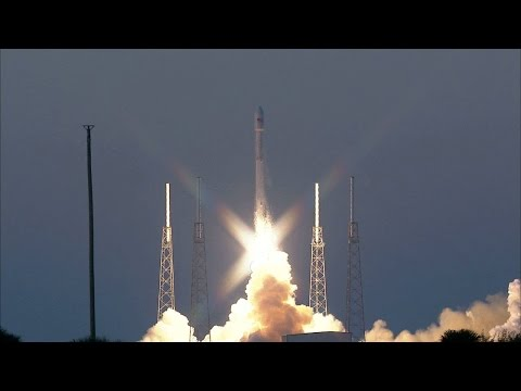 DSCOVR Launches Aboard SpaceX Falcon 9