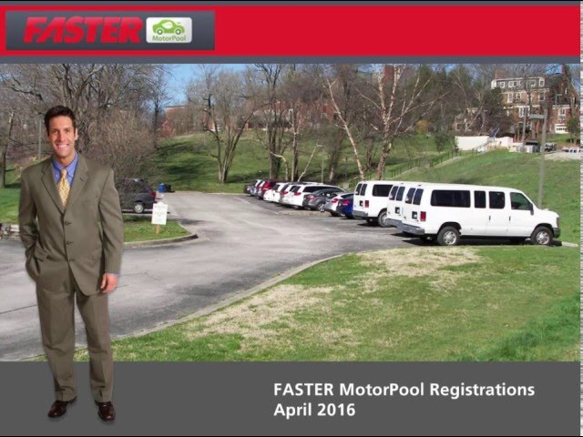 FASTER Motor Pool Training