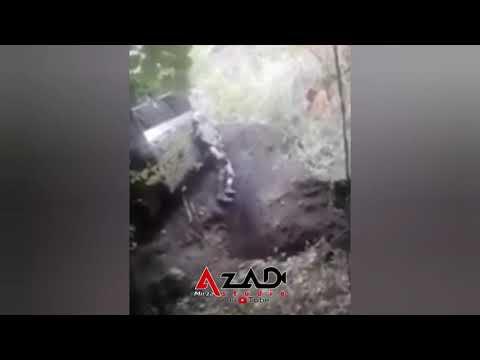 Массовое захоронение армянами погибших в Карабахе солдат