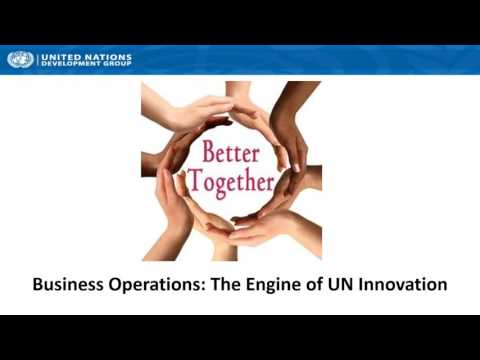 UNDG Webinar on Business Operations Strategy (BOS)