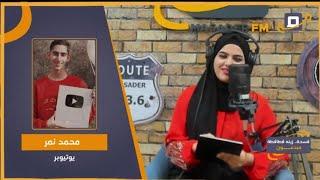 يوتيوبر فلسطيني حاصل على درع الفضي