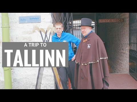 Tallinn (Estonia). Travel video 2017